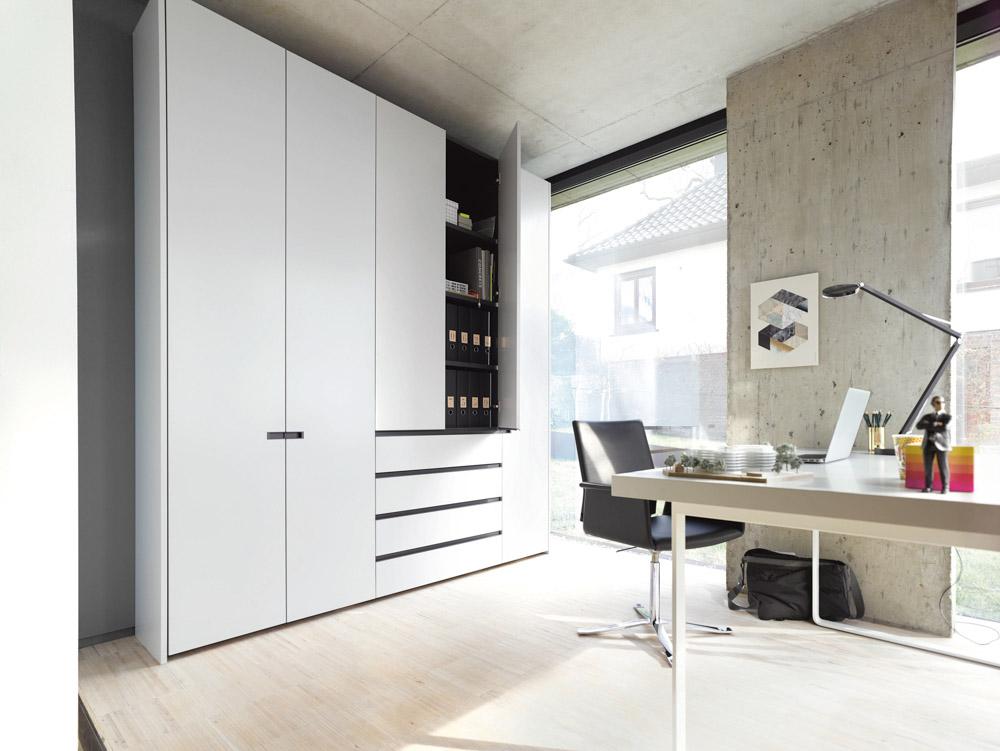 Interlübke - Schranksystem | Bürostuhl | Schreibtisch